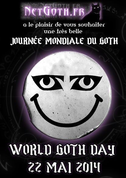 Joyeuse journée mondiale du goth !